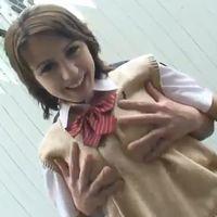 【無修正/レクシー・ベル】【中出し】メイドイン日本のチ●ポにヒクヒク喘ぐ白人美少女