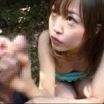 【懐エロ】ロリすぎて困る!樹若菜の野外フェラ&動画2本【無修正】