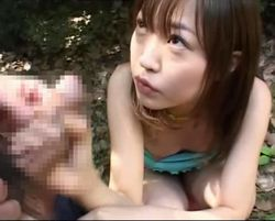(懐えろ)少女すぎて困る☆樹若菜の外フェラチオ&ムービー二本(モザ無)