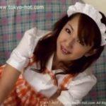 【懐エロ】滝沢美鈴(天衣みつ)のアンミラ風メイドコスでイク!【無修正】