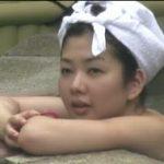 【素人】若い娘がいっぱいの露天風呂☆【無修正】