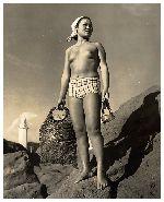 海女さんの貴重な裸体画像