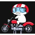 猫 バイク